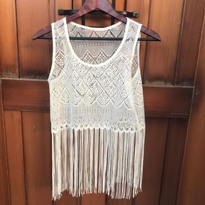 Other - White Crochet Beach Coverup